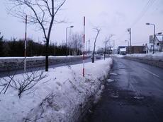 道路施設 スノーポール