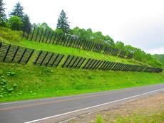 防護柵 雪崩防止柵