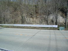 防護柵 ガードレール