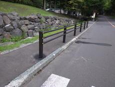 防護柵 横断防止柵