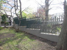 フェンス 北大植物園 デザインフェンス
